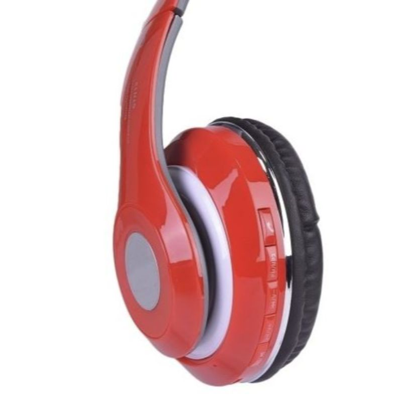 Bluetooth Wireless Headphones with Built In FM Tuner, Memory Card Slot and Mic-Daily Steals
