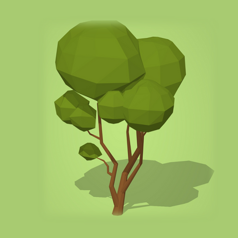 Zero to Hero Blender Course: Make 7 low poly trees for games-