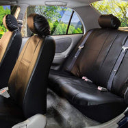 Zone Tech Universal Leather Car Seat Covers-Daily Steals