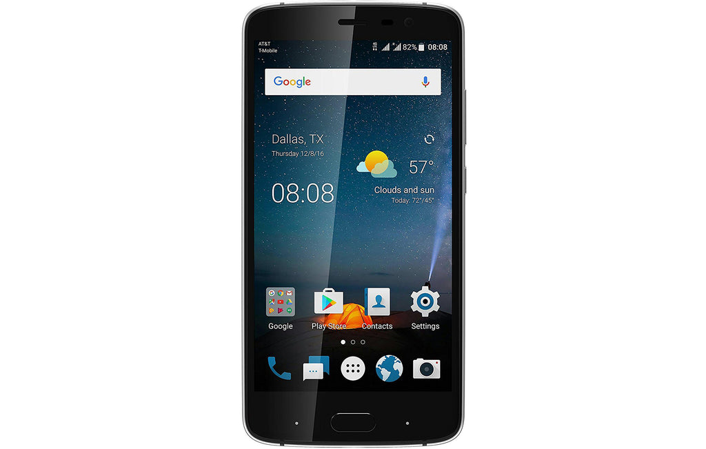 Daily Steals-ZTE Blade V8 Pro Z978 32GB Unlocked GSM Phone w/ Dual 13MP Camera - Black (Refurbished)-Cellphones (refurbished)-
