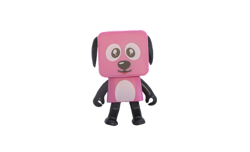 Dancing Dog Bluetooth et haut-parleur sans fil-Pink-Daily Steals