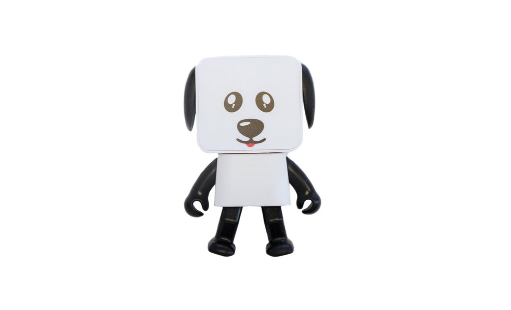 Dancing Dog Bluetooth and Wireless Speaker-White-Daily Steals