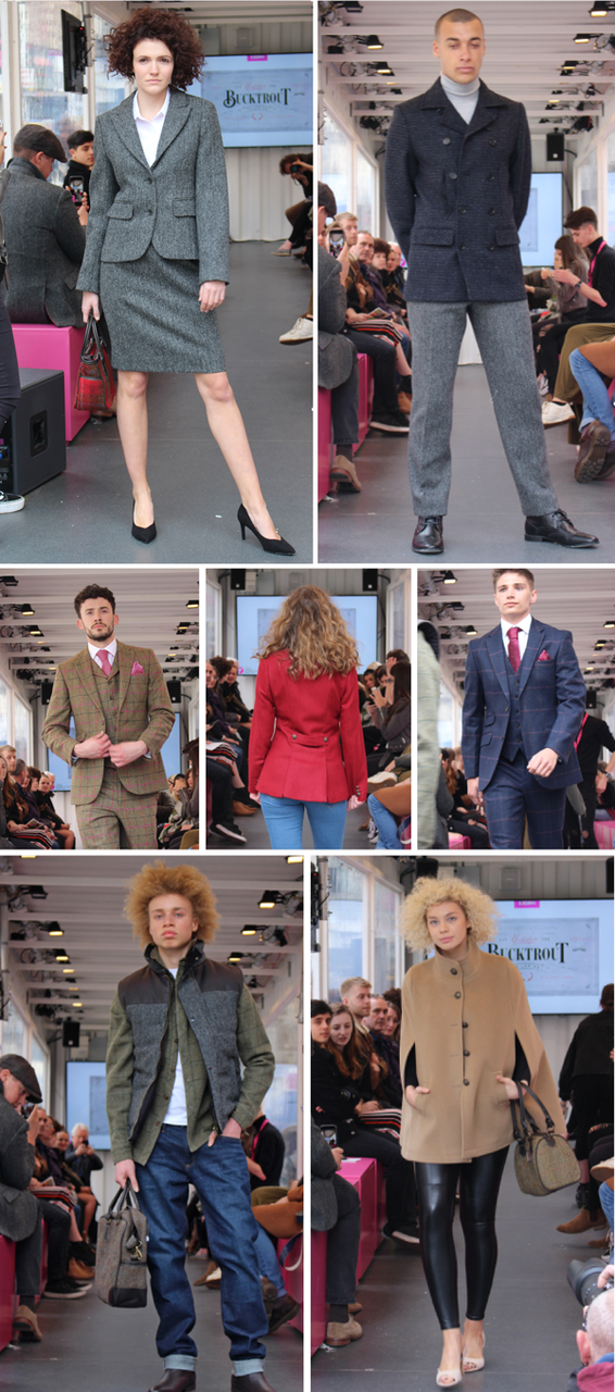 Highlights from Bucktrout Tailoring at The Fashion Space
