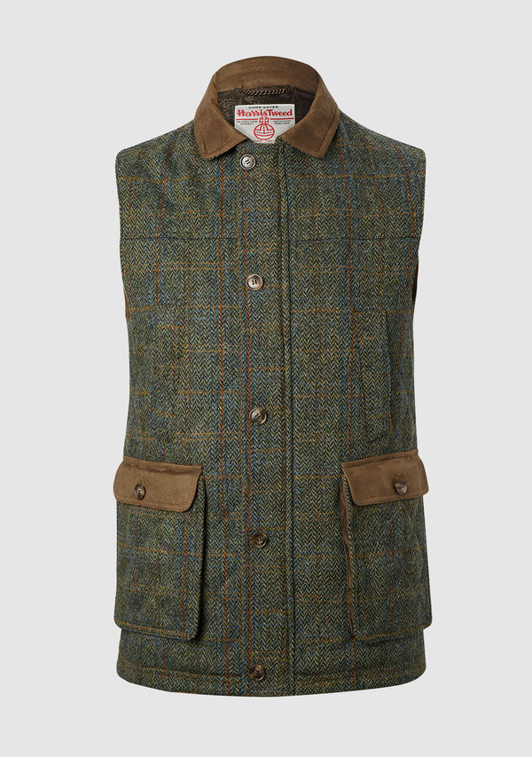 Chuck Country Gilet - Green Multi