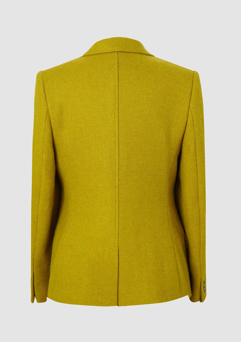 Claire Hacking Jacket - Ochre Plain