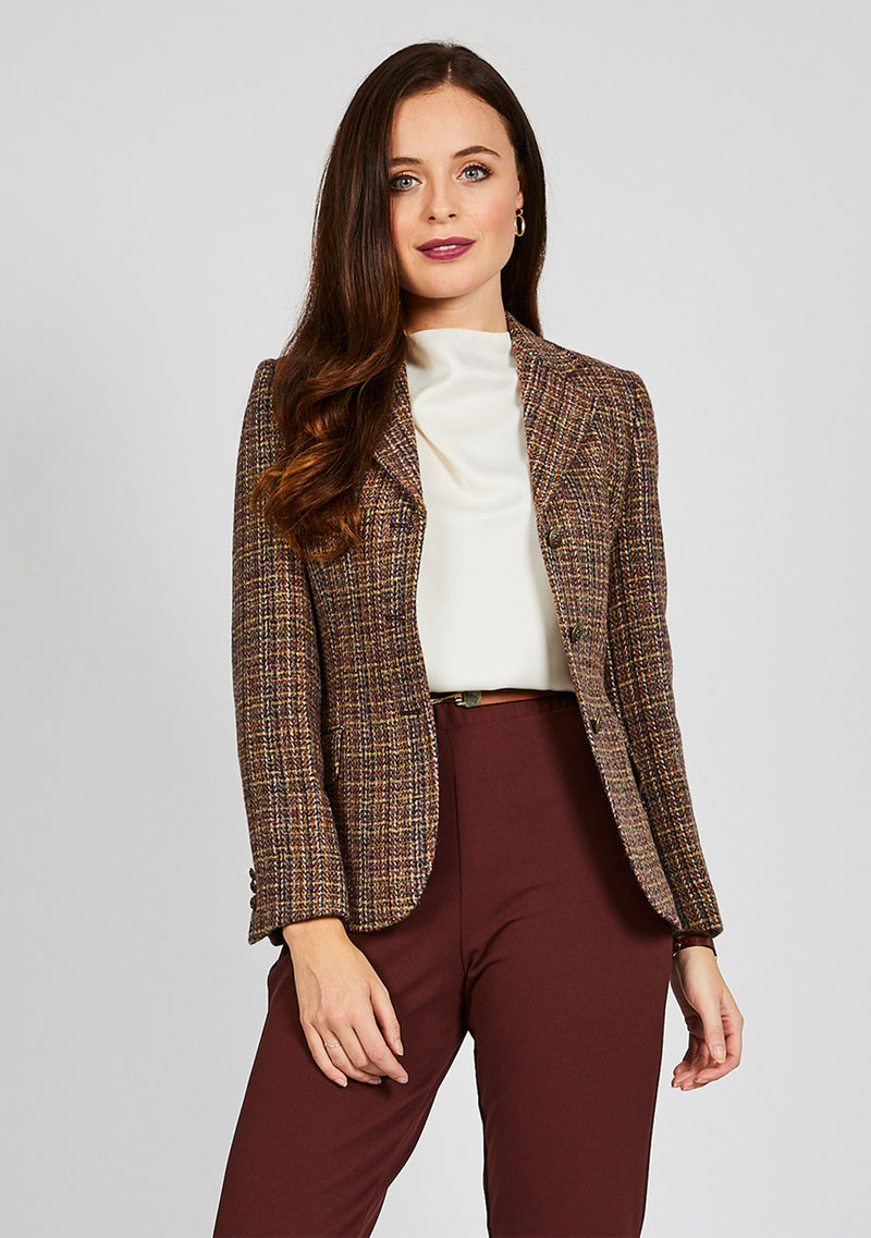 Claire Hacking Jacket - Pink Multi
