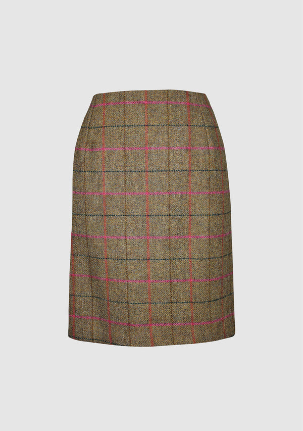 Effie Skirt - Pink Check