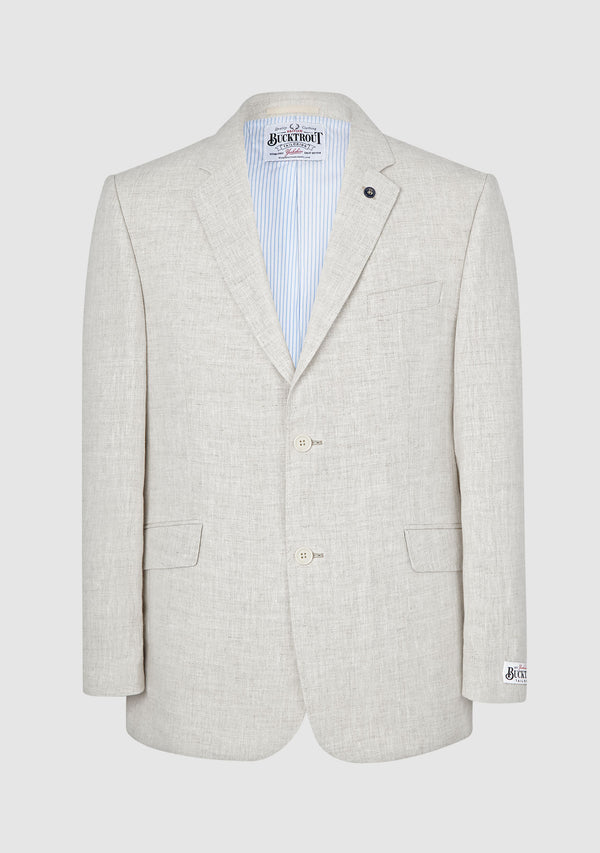 Helmsley Linen Jacket - Natural
