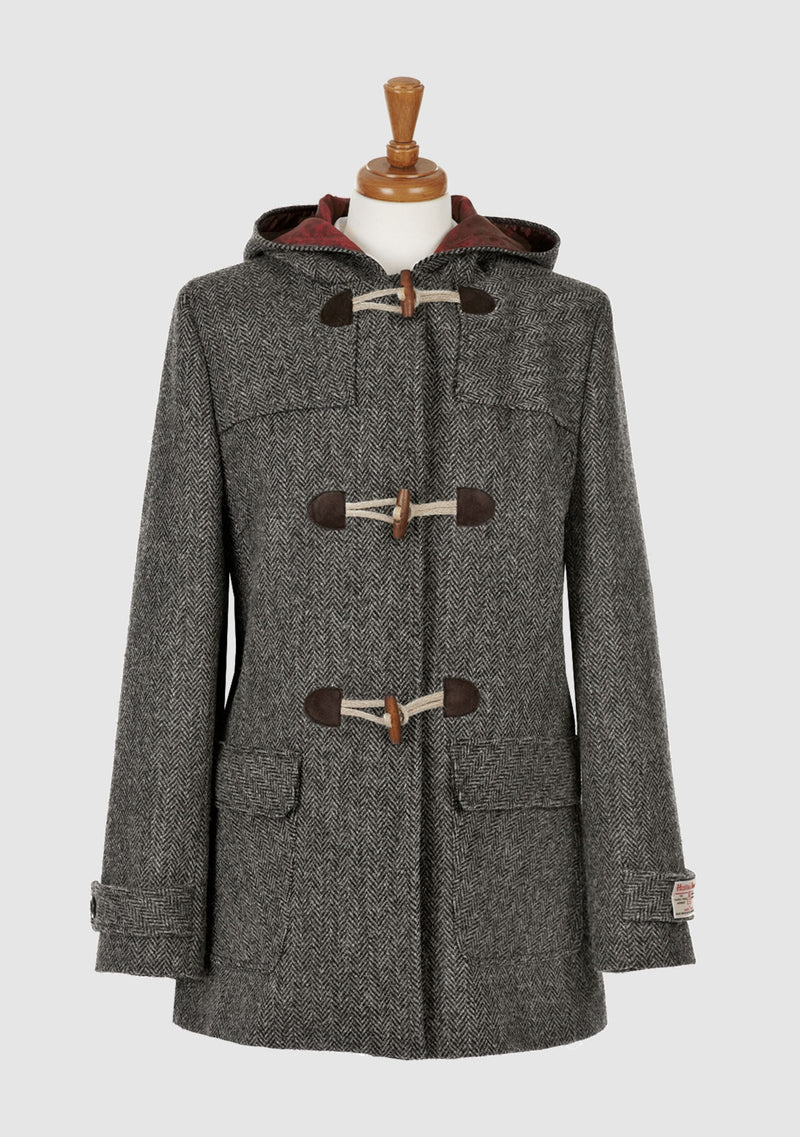 Lara Duffle Coat - Charcoal
