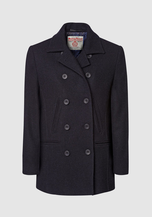 Ferry Reefer Coat - Navy Plain
