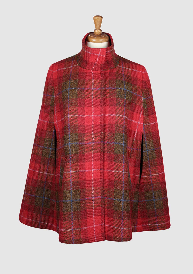 Sienna Cape - Red