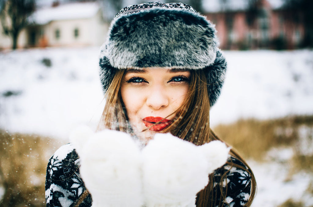 taking care of your skin in cold weather