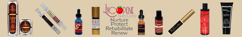 Full Line of Lycopene Skin Care Products