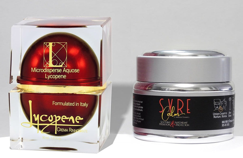 Super Combo - Lycopene Cream the #1 Antioxidant - Syre Calm for Skin Calming and Repair - See Individual Listings for all Info and Ingredients - Lycopene Skin Care