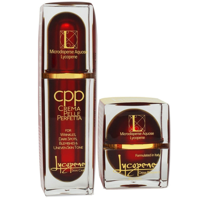 Premier Set - Best Moisturizer and Skin Perfecting Cream - Save 15% - Lycopene Skin Care