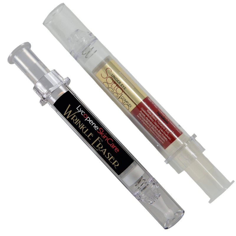 The Eye & Lip System - Everything You Need in Two Products - Save 20% - Lycopene Skin Care