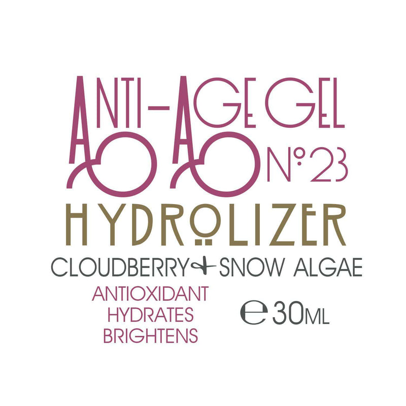 Anti-Age Gel Hydrolizer - No.23 - With Cloudberry and Snow Algae - Lycopene Skin Care