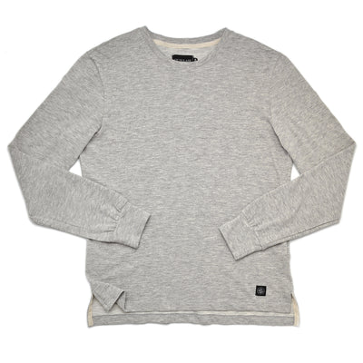 Heather Grey Slub T-Shirt