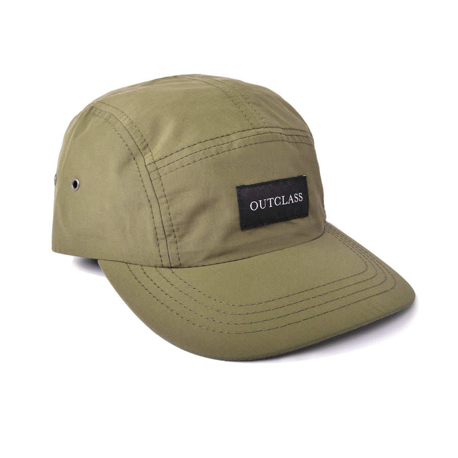 Olive Rain Repellent Camp Hat