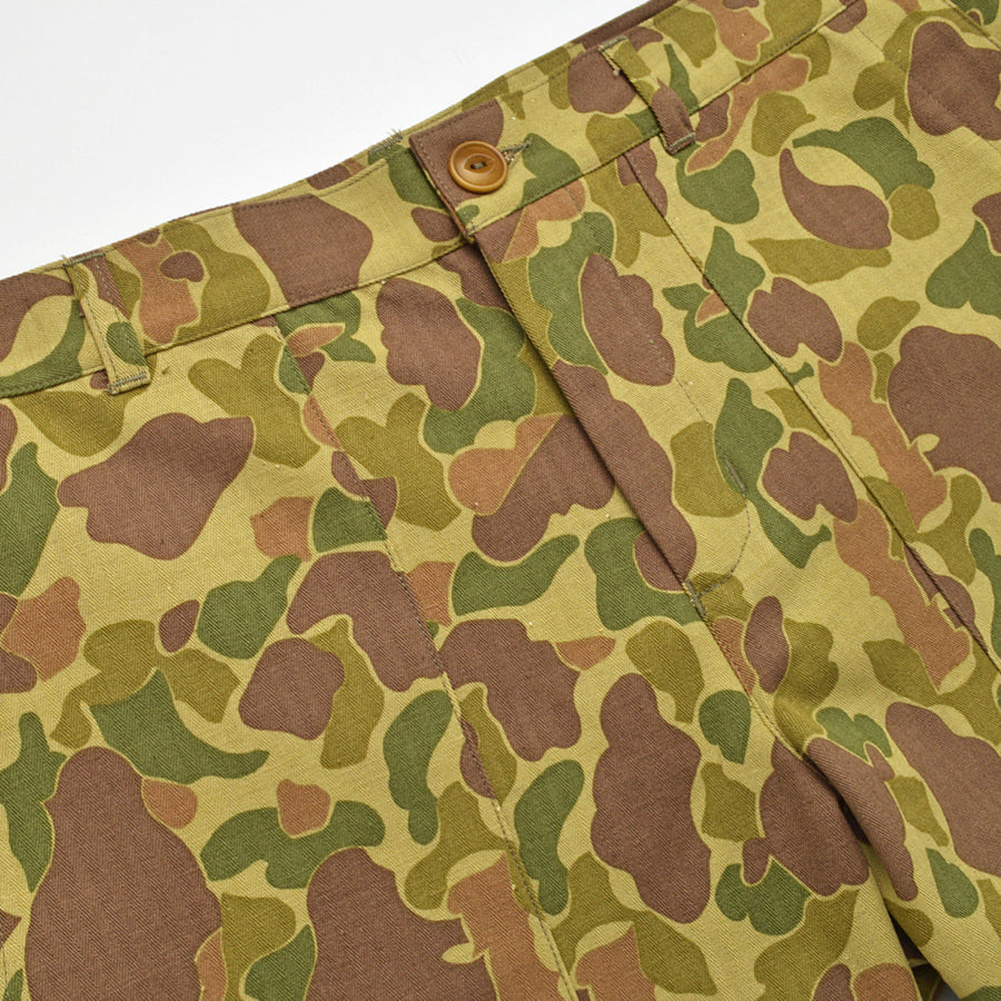 Frogskin Camo Safari Shorts