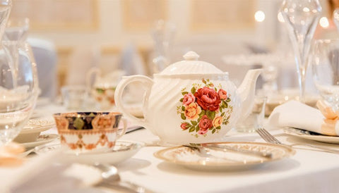 Afternoon Vintage Wedding Tea