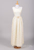 1950 Creamy Rose Vintage Wedding Gown-Mill Crest Vintage