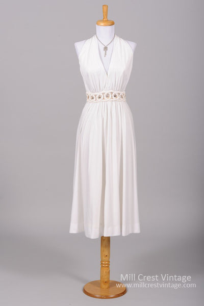 1970 Fred Perlberg Vintage Wedding Dress-Mill Crest Vintage