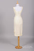 1960 Rhinestone Wiggle Vintage Wedding Dress - Mill Crest Vintage