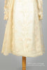 1960 Organza Applique Vintage Wedding Dress-Mill Crest Vintage
