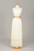 1970 Crochet Knit Vintage Wedding Gown - Mill Crest Vintage