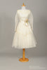 1950 Lace Daisy Chain Vintage Wedding Dress-Mill Crest Vintage