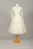 1950 Lace Daisy Chain Vintage Wedding Dress - Mill Crest Vintage
