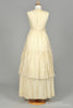 1970 Cream Crochet Vintage Wedding Gown-Mill Crest Vintage