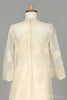 1960 Lace Embroidered Vintage Wedding Gown - Mill Crest Vintage