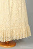 1970 Peasant Lace Vintage Wedding Gown-Mill Crest Vintage