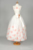 1950 Organza Garden Vintage Wedding Dress - Mill Crest Vintage
