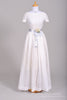 1950 Eyelet Summer Vintage Wedding Gown - Mill Crest Vintage