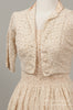 1950 Soft Peach Lace Wedding Ensemble ,  - 1950 Vintage, Mill Crest Vintage  - 2