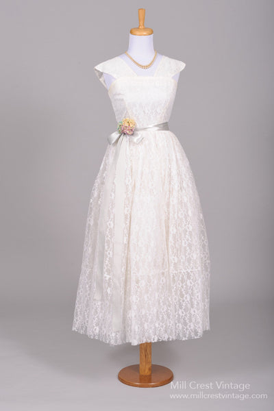 1950 Wedding Dresses