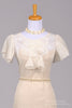 1930 Organdy Tea Style Vintage Wedding Dress-Mill Crest Vintage