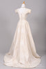 1960 Silk Taffeta Vintage Wedding Gown-Mill Crest Vintage