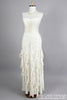 1980 Strapless Knit Vintage Wedding Gown-Mill Crest Vintage