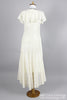 1970 Twenties Vintage Wedding Dress-Mill Crest Vintage