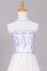 1960 Wedgewood Blue Vintage Wedding Gown-Mill Crest Vintage