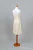 1950 Beaded Linen Vintage Wedding Dress - Mill Crest Vintage