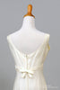 1960 Creamy Linen Vintage Wedding Dress-Mill Crest Vintage