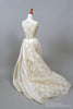 1970 High Neck Vintage Wedding Gown-Mill Crest Vintage