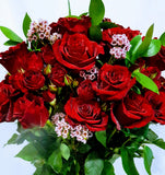 Dozen Premium Long Stem Roses - Bouquet