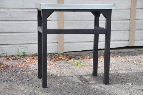 Outdoor Table, Dark Grey