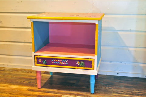 Cottage Chic One Drawer Bookcase